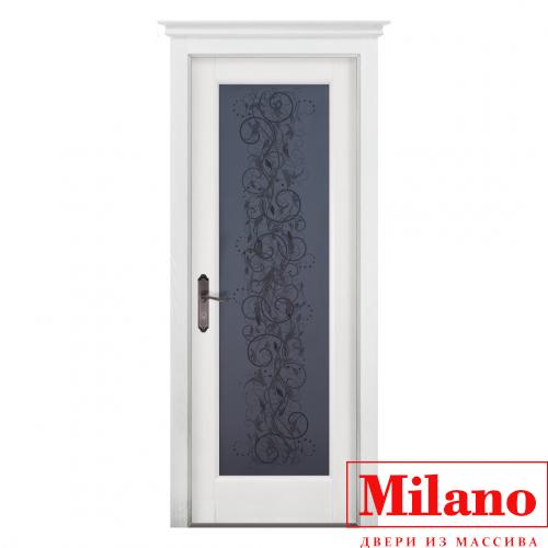 Дверь из массива ольхи Milano